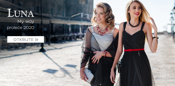 Luna haljine nova kolekcija prolece 2020