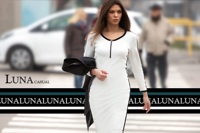 I ZA KRAJ GODINE OSTAVLJAMO – POČETAK: Nova LUNA modna linija - LUNA Casual