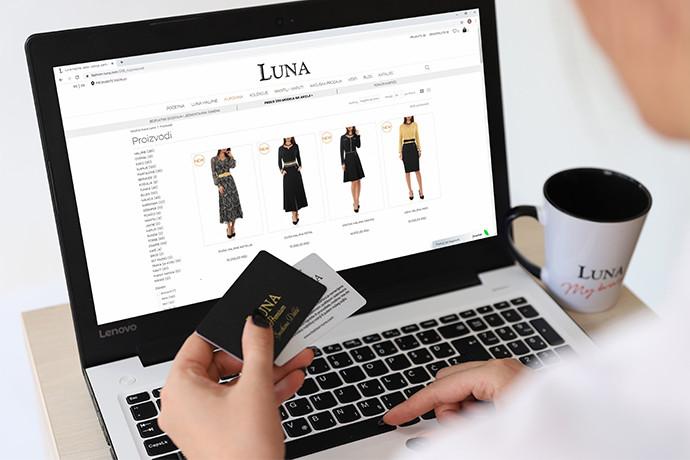 Dobrodošli u svet Luna online kupovine